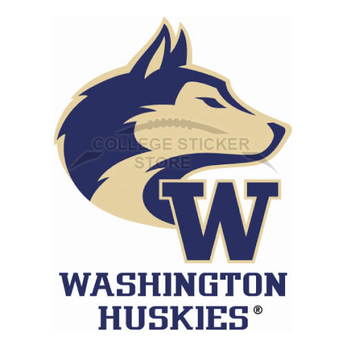 Diy Washington Huskies Iron-on Transfers (Wall Stickers)NO.6899