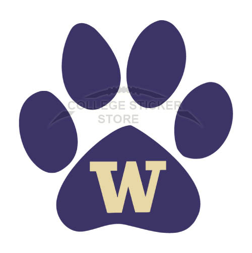 Diy Washington Huskies Iron-on Transfers (Wall Stickers)NO.6900