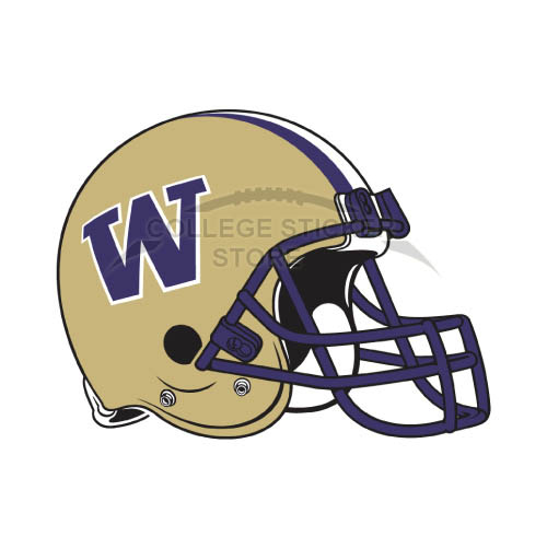 Diy Washington Huskies Iron-on Transfers (Wall Stickers)NO.6904