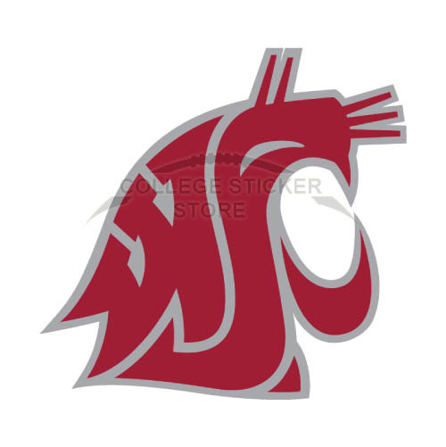 Diy Washington State Cougars Iron-on Transfers (Wall Stickers)NO.6906