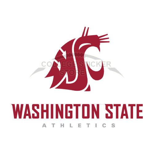 Diy Washington State Cougars Iron-on Transfers (Wall Stickers)NO.6907