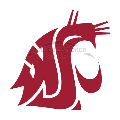 Diy Washington State Cougars Iron-on Transfers (Wall Stickers)NO.6913