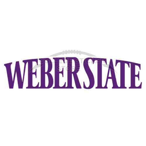 Diy Weber State Wildcats Iron-on Transfers (Wall Stickers)NO.6916