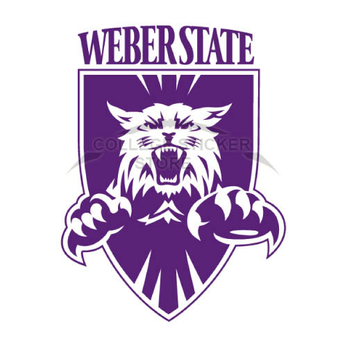 Diy Weber State Wildcats Iron-on Transfers (Wall Stickers)NO.6917