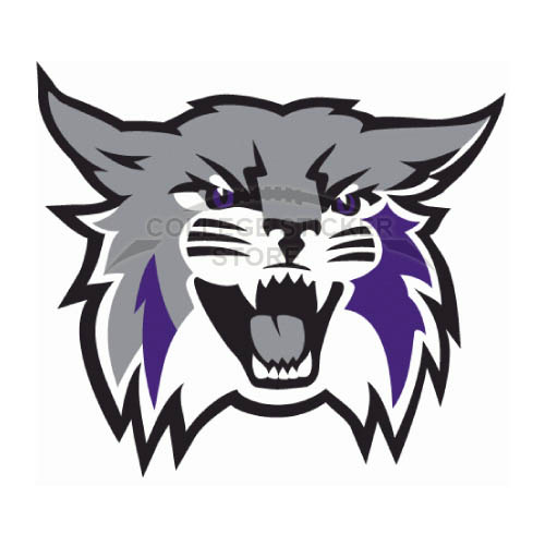 Diy Weber State Wildcats Iron-on Transfers (Wall Stickers)NO.6918