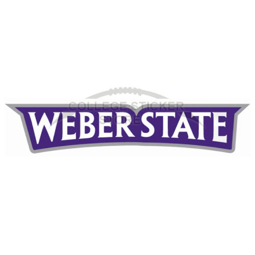 Diy Weber State Wildcats Iron-on Transfers (Wall Stickers)NO.6919