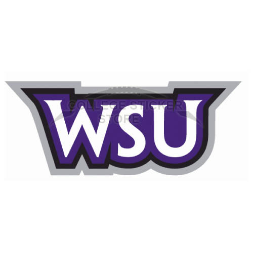 Diy Weber State Wildcats Iron-on Transfers (Wall Stickers)NO.6923