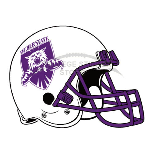 Diy Weber State Wildcats Iron-on Transfers (Wall Stickers)NO.6924
