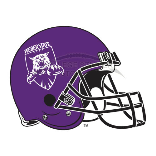 Diy Weber State Wildcats Iron-on Transfers (Wall Stickers)NO.6925