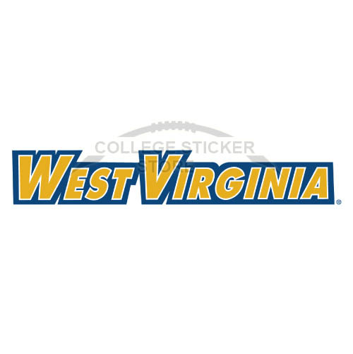Diy West Virginia Mountaineers Iron-on Transfers (Wall Stickers)NO.6927