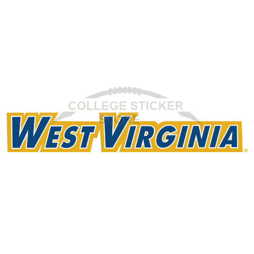Diy West Virginia Mountaineers Iron-on Transfers (Wall Stickers)NO.6929