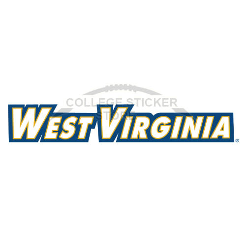 Diy West Virginia Mountaineers Iron-on Transfers (Wall Stickers)NO.6931