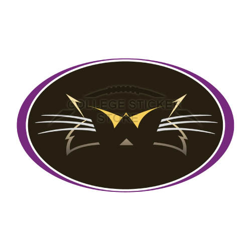 Diy Western Carolina Catamounts Iron-on Transfers (Wall Stickers)NO.6941