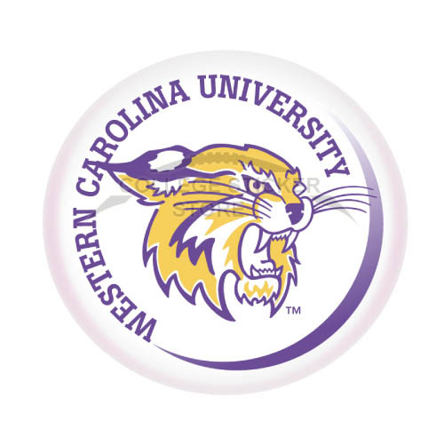 Diy Western Carolina Catamounts Iron-on Transfers (Wall Stickers)NO.6945