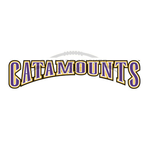Diy Western Carolina Catamounts Iron-on Transfers (Wall Stickers)NO.6953