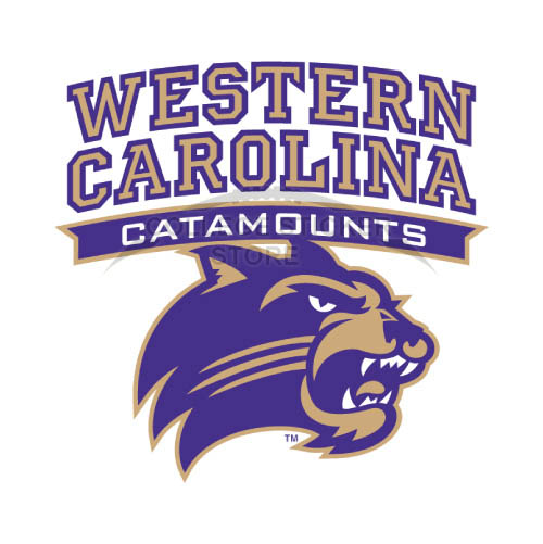 Diy Western Carolina Catamounts Iron-on Transfers (Wall Stickers)NO.6955