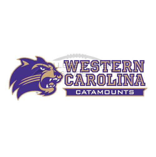 Diy Western Carolina Catamounts Iron-on Transfers (Wall Stickers)NO.6958