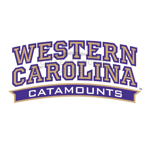 Diy Western Carolina Catamounts Iron-on Transfers (Wall Stickers)NO.6959