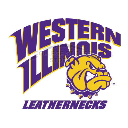 Diy Western Illinois Leathernecks Iron-on Transfers (Wall Stickers)NO.6964
