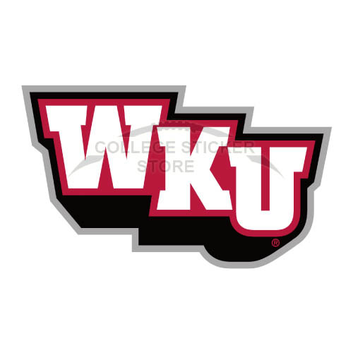 Diy Western Kentucky Hilltoppers Iron-on Transfers (Wall Stickers)NO.6978