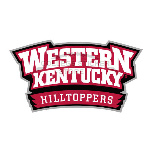 Diy Western Kentucky Hilltoppers Iron-on Transfers (Wall Stickers)NO.6980