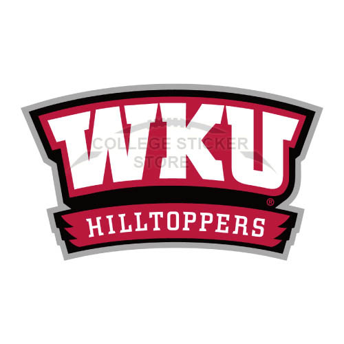 Diy Western Kentucky Hilltoppers Iron-on Transfers (Wall Stickers)NO.6981