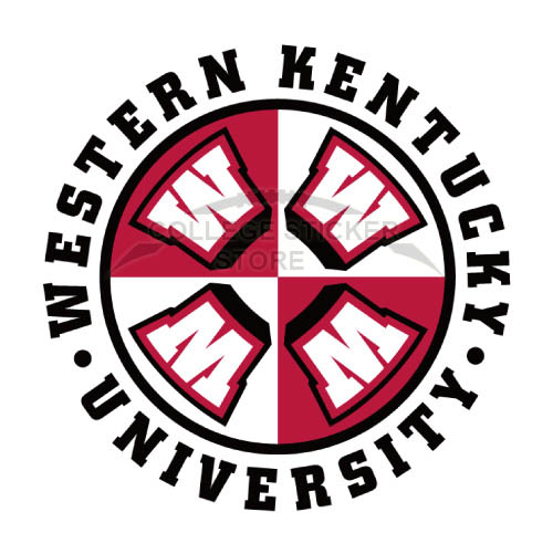 Diy Western Kentucky Hilltoppers Iron-on Transfers (Wall Stickers)NO.6986