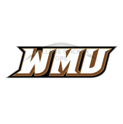 Diy Western Michigan Broncos Iron-on Transfers (Wall Stickers)NO.6989