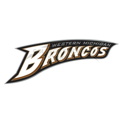 Diy Western Michigan Broncos Iron-on Transfers (Wall Stickers)NO.6991