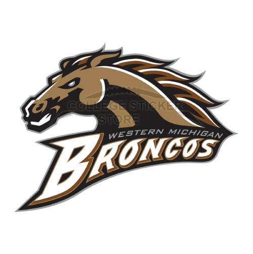 Diy Western Michigan Broncos Iron-on Transfers (Wall Stickers)NO.6994