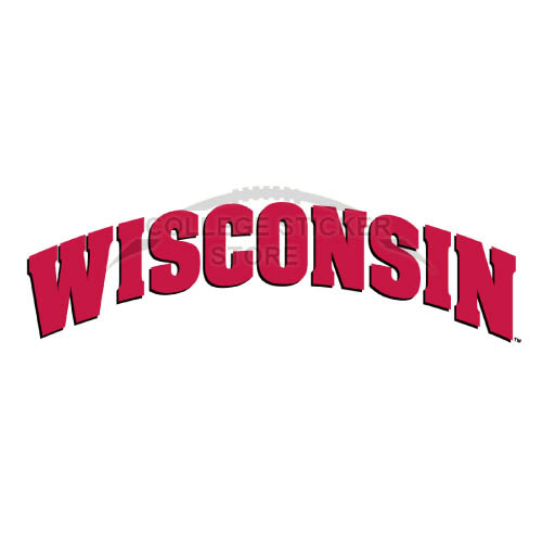 Diy Wisconsin Badgers Iron-on Transfers (Wall Stickers)NO.7022