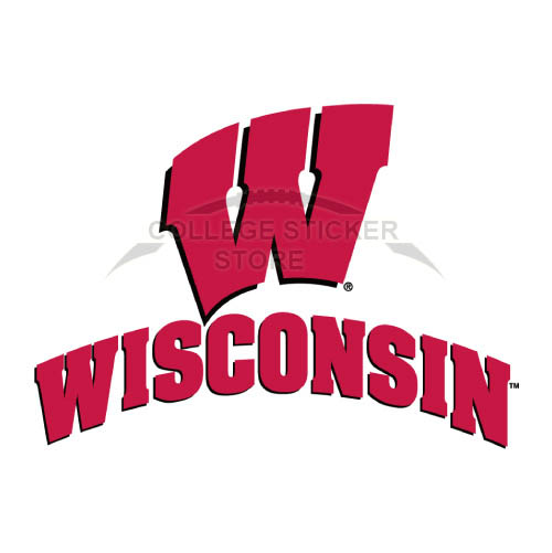 Diy Wisconsin Badgers Iron-on Transfers (Wall Stickers)NO.7024