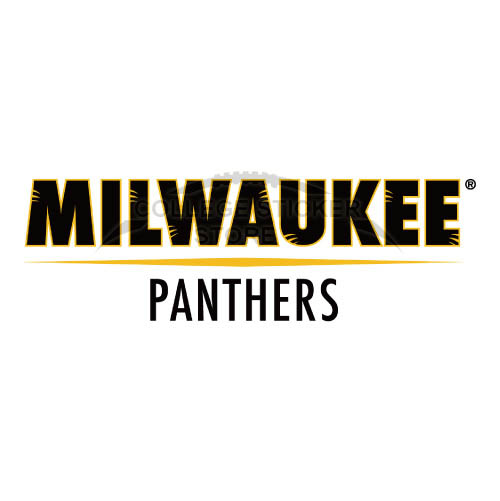 Diy Wisconsin Milwaukee Panthers Iron-on Transfers (Wall Stickers)NO.7045