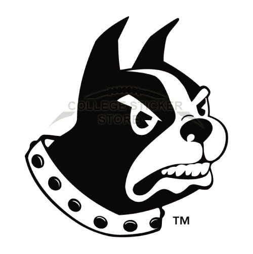 Diy Wofford Terriers Iron-on Transfers (Wall Stickers)NO.7046