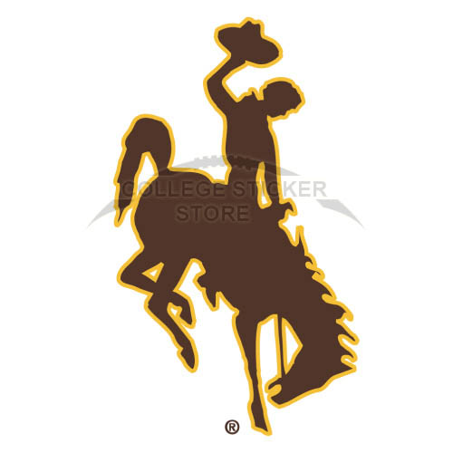 Diy Wyoming Cowboys Iron-on Transfers (Wall Stickers)NO.7058