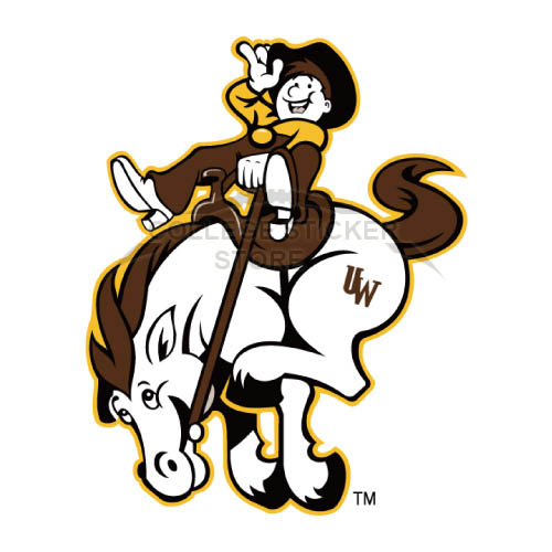 Diy Wyoming Cowboys Iron-on Transfers (Wall Stickers)NO.7061