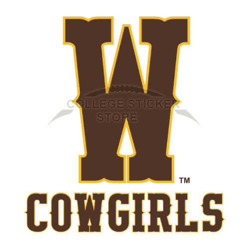 Diy Wyoming Cowboys Iron-on Transfers (Wall Stickers)NO.7062