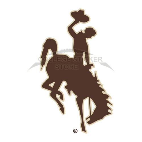 Diy Wyoming Cowboys Iron-on Transfers (Wall Stickers)NO.7066