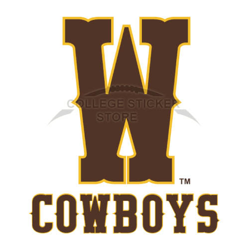 Diy Wyoming Cowboys Iron-on Transfers (Wall Stickers)NO.7068