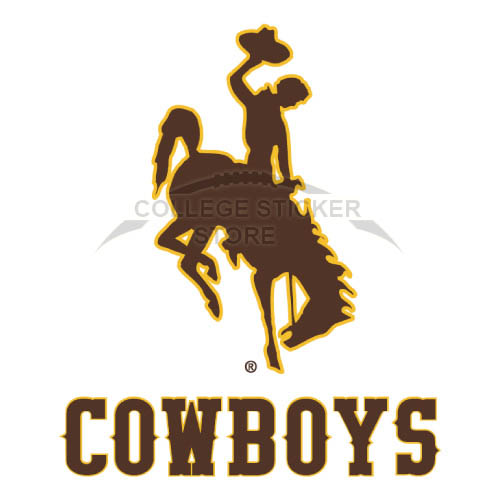 Diy Wyoming Cowboys Iron-on Transfers (Wall Stickers)NO.7070