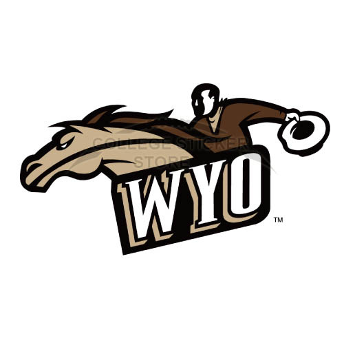 Diy Wyoming Cowboys Iron-on Transfers (Wall Stickers)NO.7071