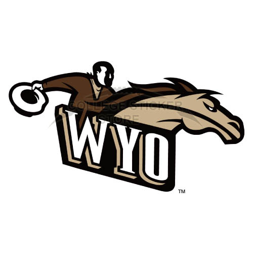 Diy Wyoming Cowboys Iron-on Transfers (Wall Stickers)NO.7072