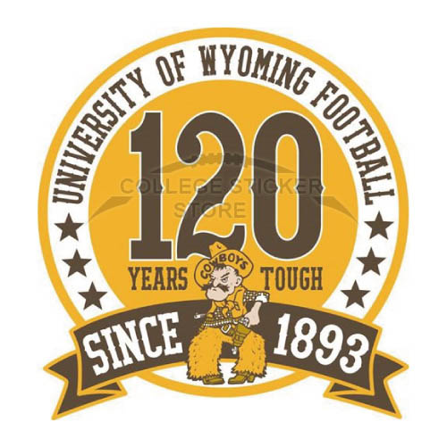 Diy Wyoming Cowboys Iron-on Transfers (Wall Stickers)NO.7073