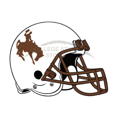 Diy Wyoming Cowboys Iron-on Transfers (Wall Stickers)NO.7075