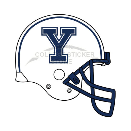 Diy Yale Bulldogs Iron-on Transfers (Wall Stickers)NO.7094