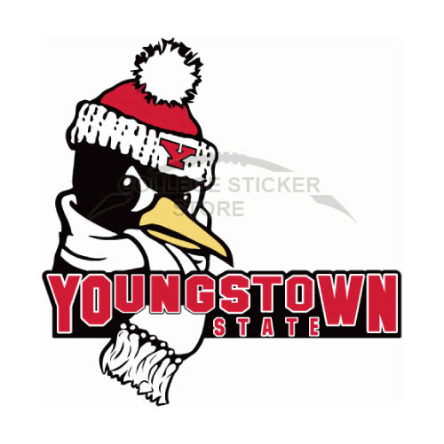 Diy Youngstown State Penguins Iron-on Transfers (Wall Stickers)NO.7095