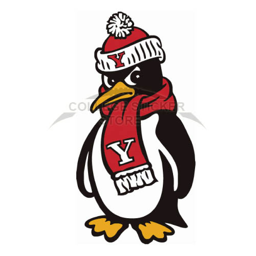 Diy Youngstown State Penguins Iron-on Transfers (Wall Stickers)NO.7096